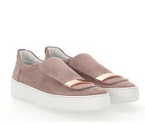 Slip-On Sneaker A79290 Veloursleder rosè