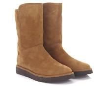 Stiefeletten Boots Abree Short 2 Veloursleder braun