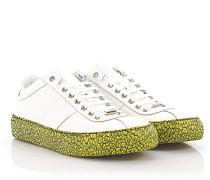 Sneakers Portman Leder Golfprägung