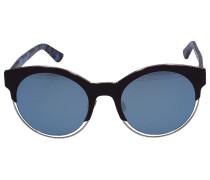 Sonnenbrille Cat Eye SIDERA Acetat Schildkröte braun