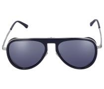 Sonnenbrille Aviator CARL/S Metall silber