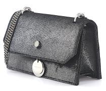 Handtasche Finley Samt anthrazit