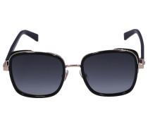 Sonnenbrille Square ELVA/S Acetat schwarz