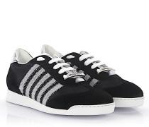 Sneakers New Runner Veloursleder Hightech-Jersey