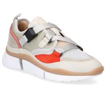 Sneaker SONNIE Baumwolle Glattleder Kalbsleder Nylon