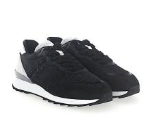 Sneaker low R261 Kalbsleder Lackleder Mesh Nylon