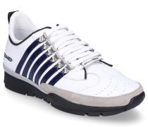 Sneaker low 251 Glattleder Veloursleder Logo Streifen