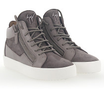 Sneaker MAY Mid Top Leder Veloursleder