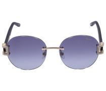 Sonnenbrille Round C05S Metall gold
