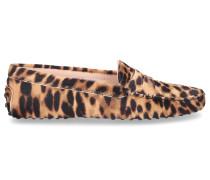 Mokassins GOMMINI MOCASSIN Pony Leo Print leopard