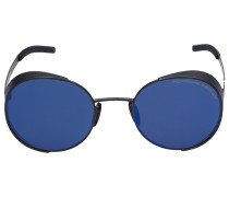 Sonnenbrille Round P´8674 Metall schwarz