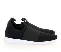 Slip-On Sneaker low OAKLAND Mesh Nylon Veloursleder