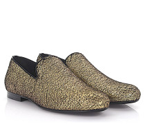 Slipper Sloane Stoff metallic finished