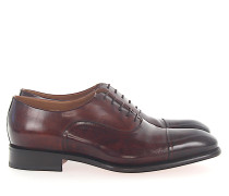Businessschuhe Oxford Kalbsleder bordeaux