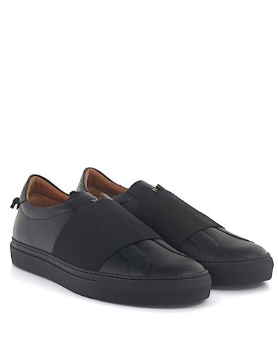 Slip-On Sneaker Low elastic Leder