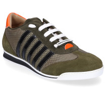 Sneaker low NEW RUNNER Nylon Veloursleder Streifen