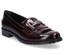 Loafer 0U680 Glattleder Clamp-Schnalle Fransen