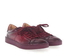 Sneaker 20374 Glattleder Finished bordeaux