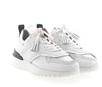 Sneaker A0W600 Kalbsleder Fransen Lochmuster