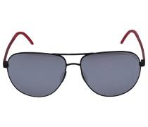 Sonnenbrille Aviator 8651 Acetat schwarz
