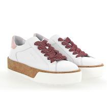 Sneaker R320 Glattleder Kork rosa