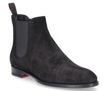 Stiefeletten Ankle Boots 57515 Kalbsvelours
