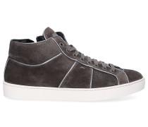 Sneaker high 60429 Veloursleder taupe