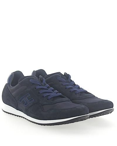 Sneaker H205 Mesh Veloursleder dunkel
