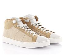 Sneakers Mid Cut D60026 Veloursleder Stoff
