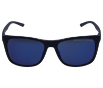 Sonnenbrille Wayfarer 8648 Verspiegelt Acetat dunkel