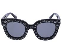 Sonnenbrille Wayfarer 116S 002 Acetat Schwarz