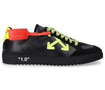 Sneaker low 2.0 Kalbsleder Patch -kombi