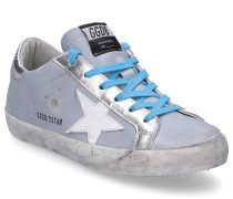 Sneaker low SUPERSTAR Glattleder Used blau