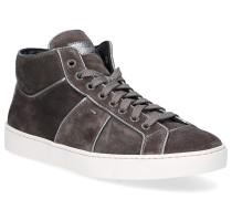 Sneaker high 60429 Veloursleder taupe