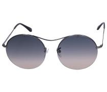 Sonnenbrille Round 0565 Metall schwarz