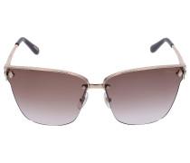 Sonnenbrille Wayfarer SCHC19 Metall gold