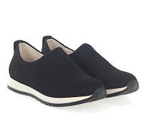 Sneaker Slip-On VICKY Stoff Netzmuster