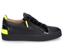 Sneaker low FRANKIE Kalbsleder Logo -kombi
