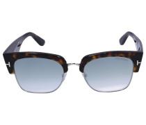 Sonnenbrille Clubmaster 554 Acetat Schildkröte braun