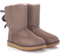 Stiefeletten Boots BAILEY BOW 2 Veloursleder flieder