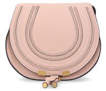 Handtasche MARCIE MINI Kalbsleder Logo altrosa