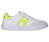 Sneaker low H365 GEL Kalbsleder Logo gelb