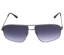 Sonnenbrille Aviator 467 Metall Acetat silber