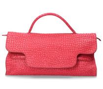 Handtasche NINA DESERT Kalbsleder Logo