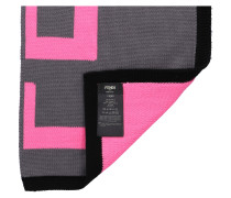 Schal FXS124 Wolle Logo pink rosa