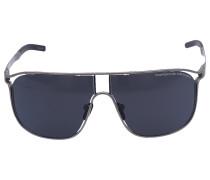 Sonnenbrille Aviator 8663 Titan silber