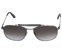 Sonnenbrille Aviator 339 09F Metall schwarz