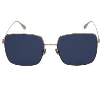 Sonnenbrille Square STEL1 Metall gold