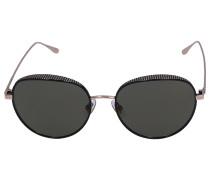 Sonnenbrille Round ELLO/S PLDHJ Metall rosé