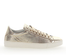 Sneaker 60164 Leder metallic